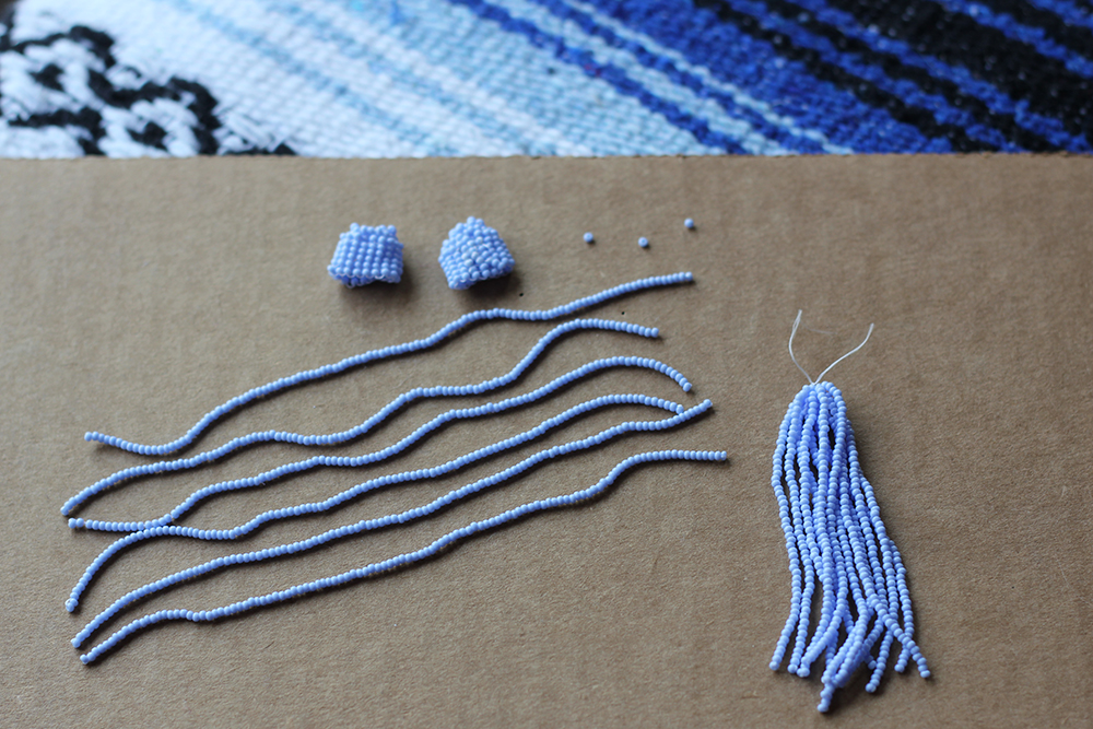Diy Tassel Earrings Homemadebanana