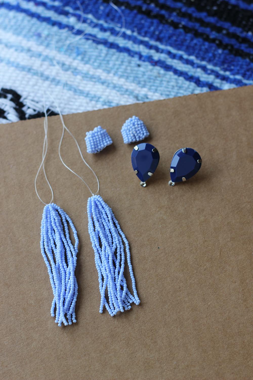 Diy tassel earrings homemadebanana